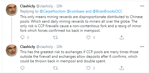 OCC's Brian Brooks Says China Owns Bitcoin but Crypto World Disagrees: Chinese Crackdown Pushing Miners Away