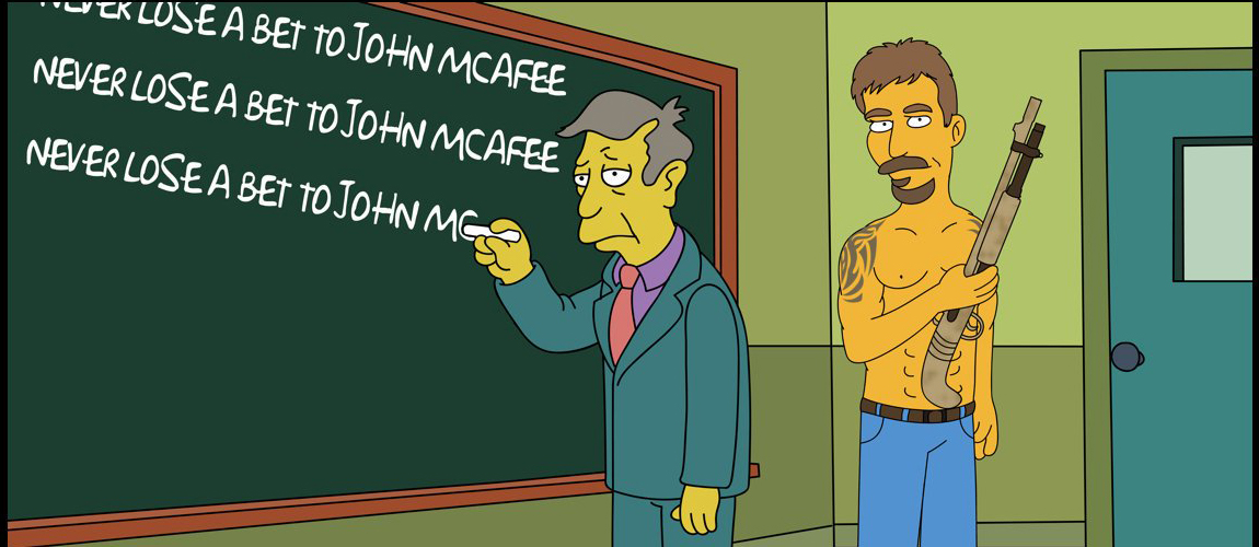 The Infamous Bet: John McAfee's 2020 Price Target Shows BTC Undervalued by $37K