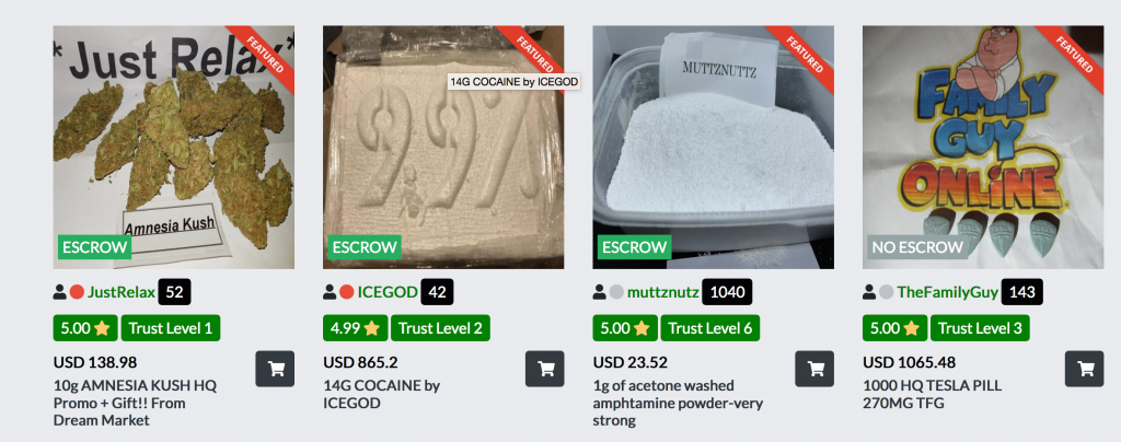 Why Darknet Drug Sales Are on the Rise